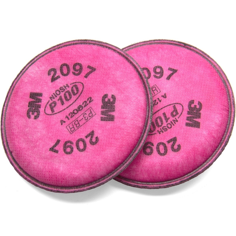 (AGOTADO) FILTRO 2097-P100 3M PAQ. C/2 PZ